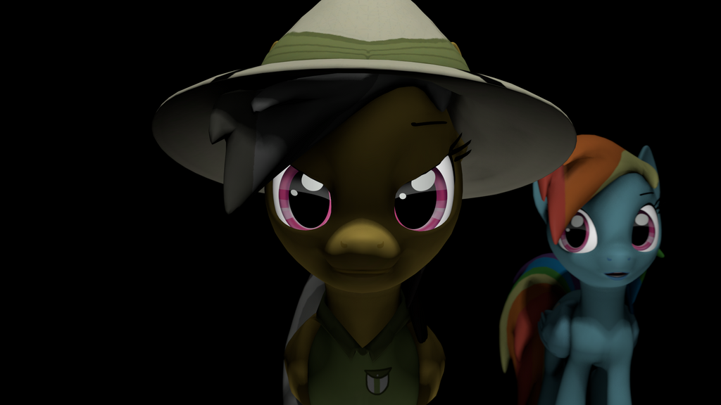 {SFM} MLP: Daring Do And Rainbow By Jaygaming1 On DeviantArt