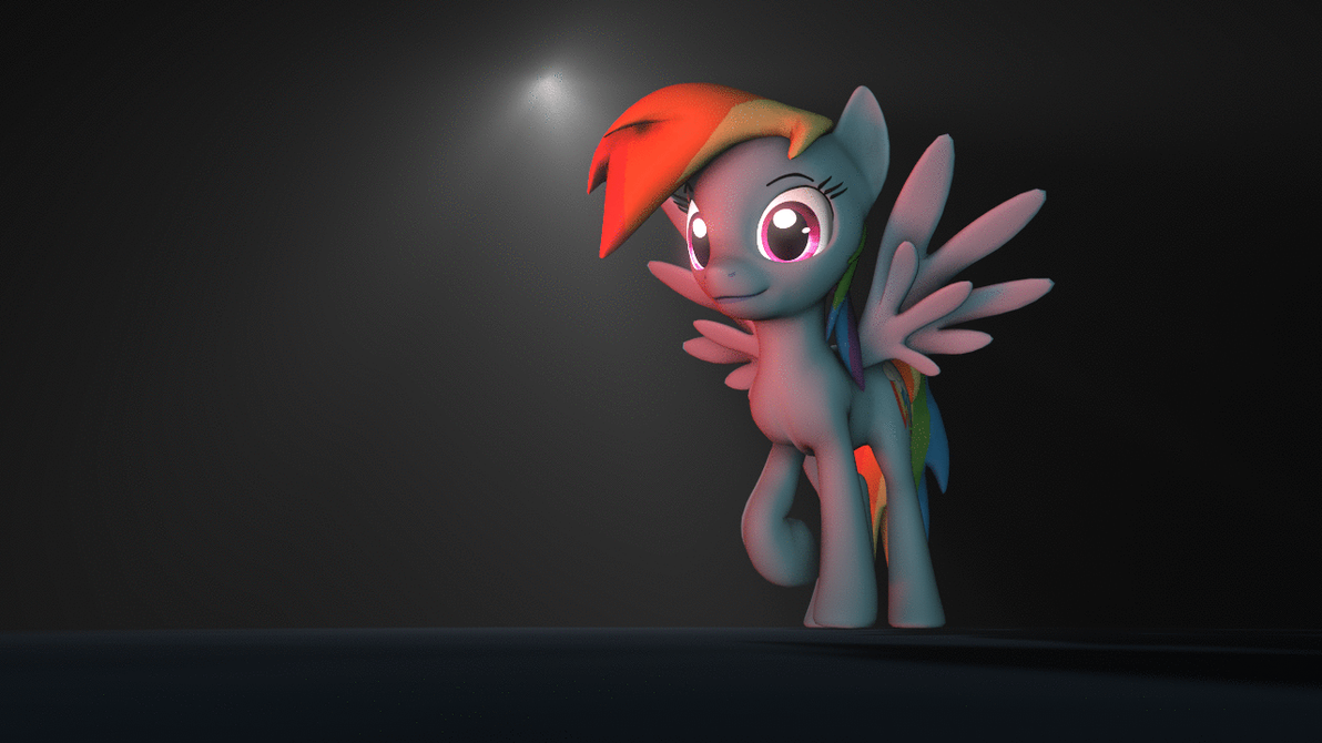 {SFM Animation} MLP: Rainbow Dash Test #1 By Jaygaming1 On