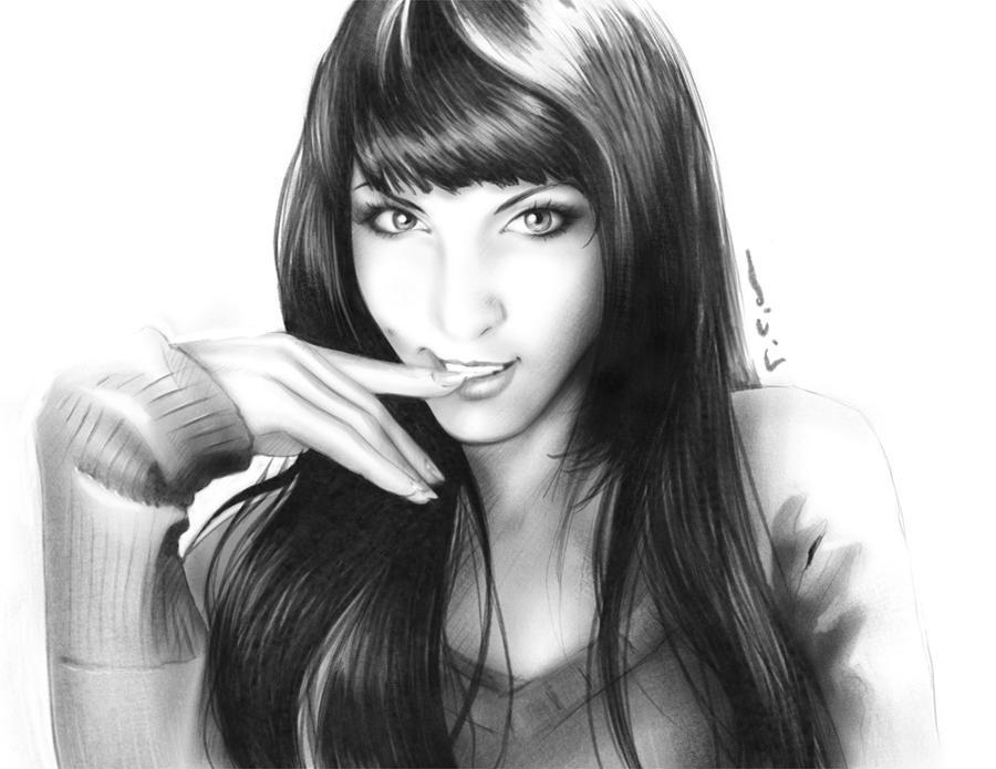 My Self-Portrait by LiciaAkiko