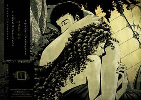 FANART Oluha and Kazuhiko - CLOVER by Clamp