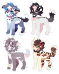 auction adoptables [open 4/4] by kerusari-adopt