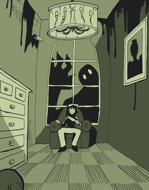 Bad Creepy Room By Rabbitrabbit