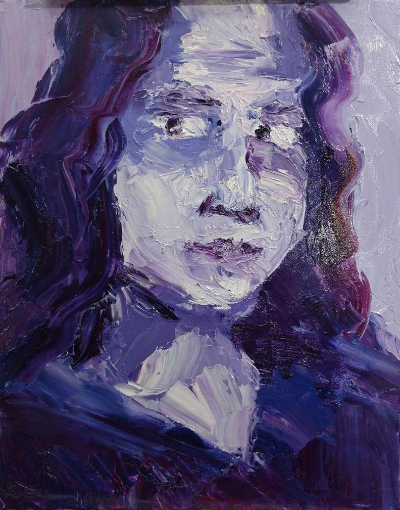 self portrait by ImpishVanity