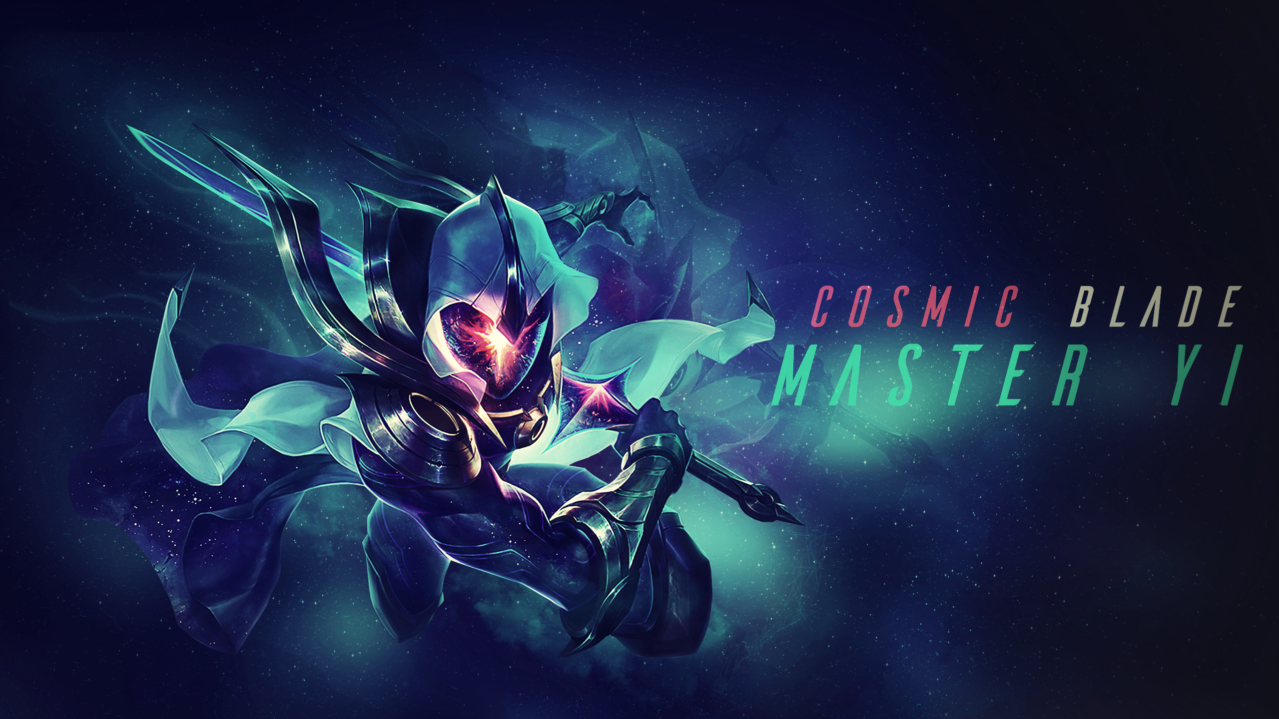 Cosmic Blade Master Yi Wallpaper By Cobrainfinite On Deviantart