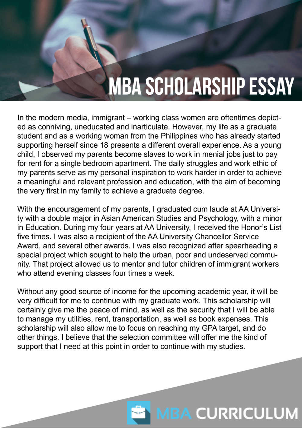 scholarship essay writing help com give an example of how you have demonstrated leadership be specific give examples be personal make sure the committee can assess scholarship essay