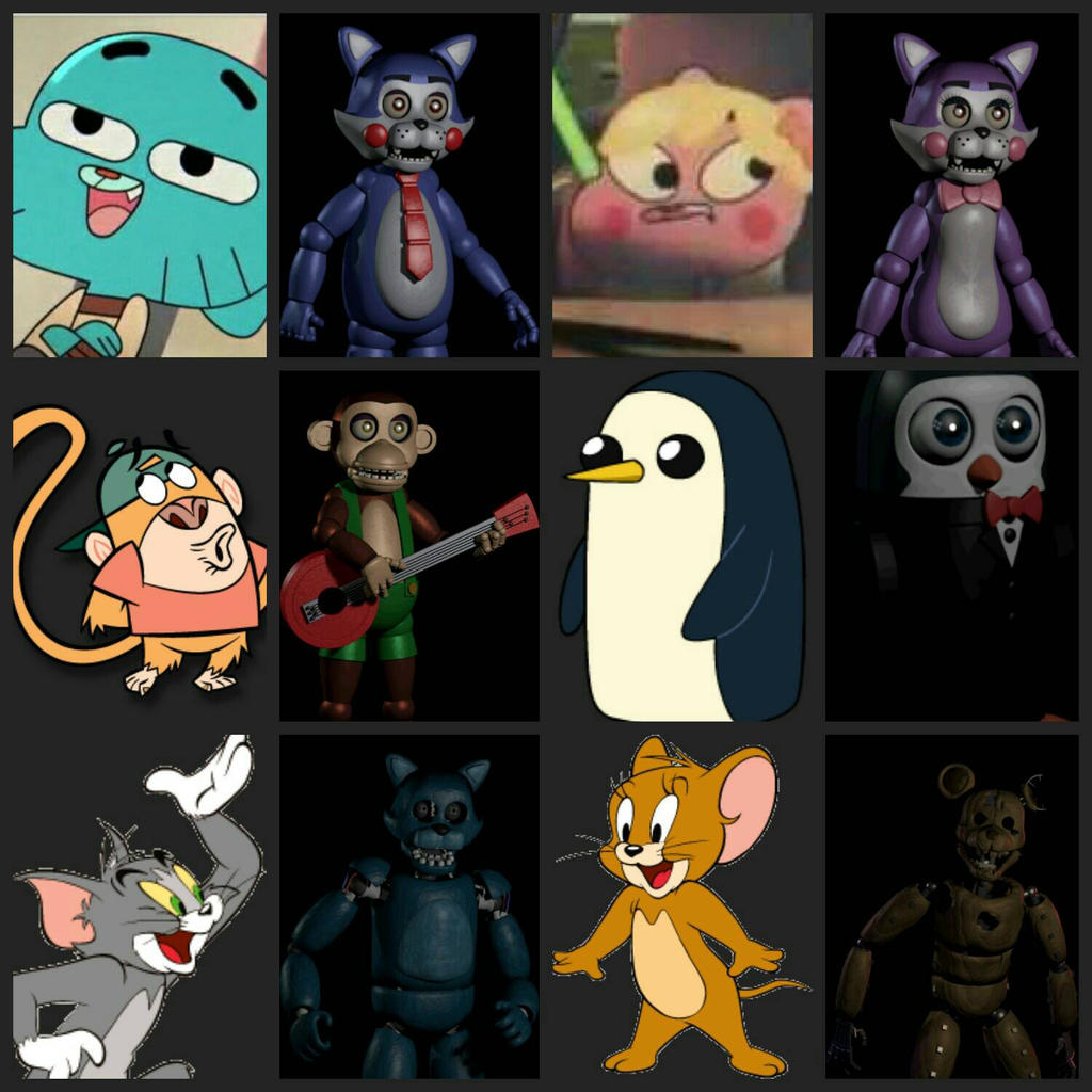 My thoughts on five nights at candy s by longhairedlioness on