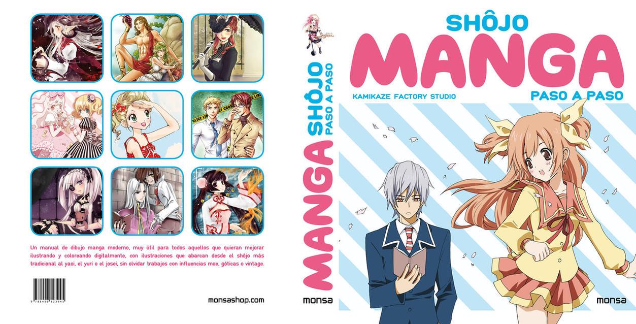 SHOJO MANGA PASO A PASO Cover by Atzur