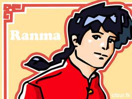 Ranma Vectorizado by Atzur