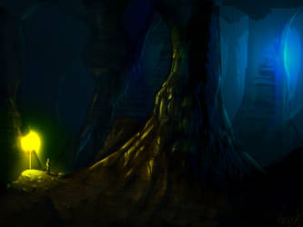 Inside the cave .. by smeetrules