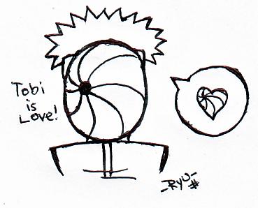 my love for TOBI....xD by ichimoku