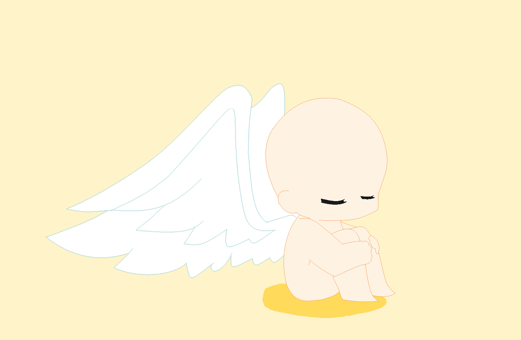 Chibi Baby With Wings Base by NyanWulf02 on DeviantArt