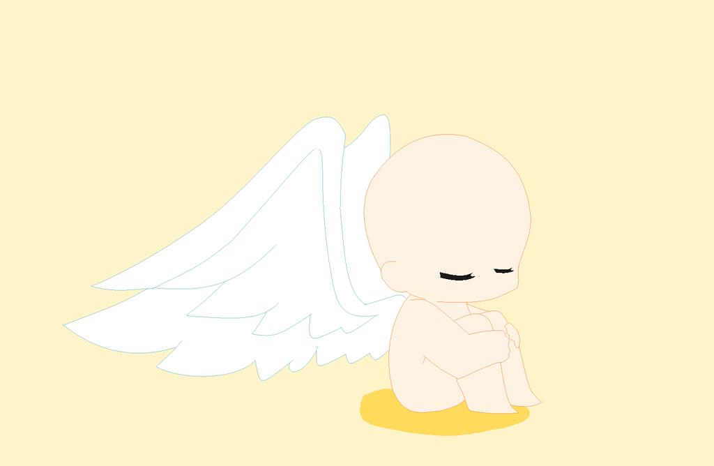 chibi angel wings - photo #21