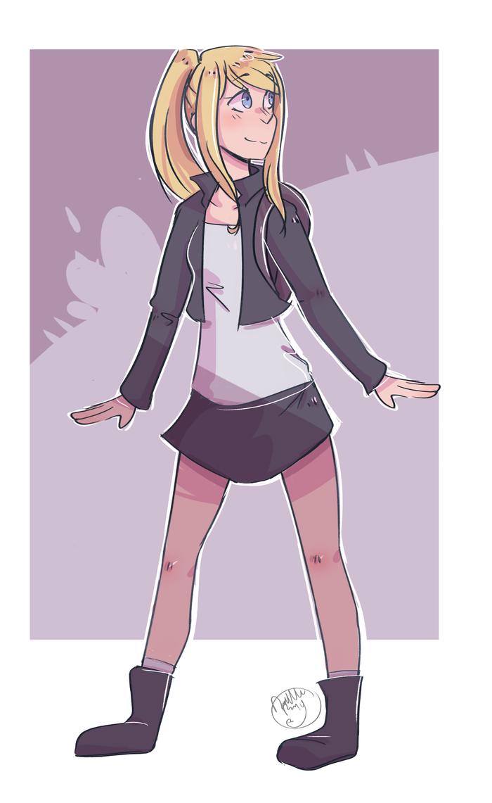 Winry (SPEEDPAINT) by NyanWulf02