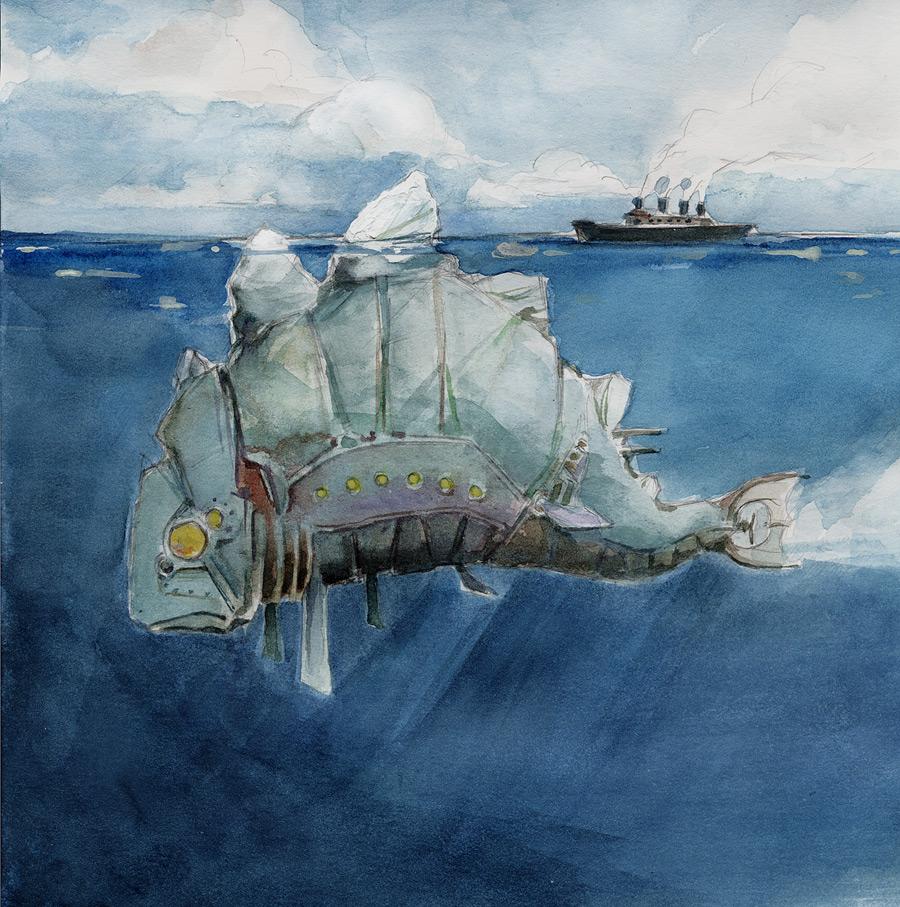 Tip Of The Iceberg By Whiteflyinglizard On DeviantArt