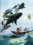 Catching the Flying Fish
