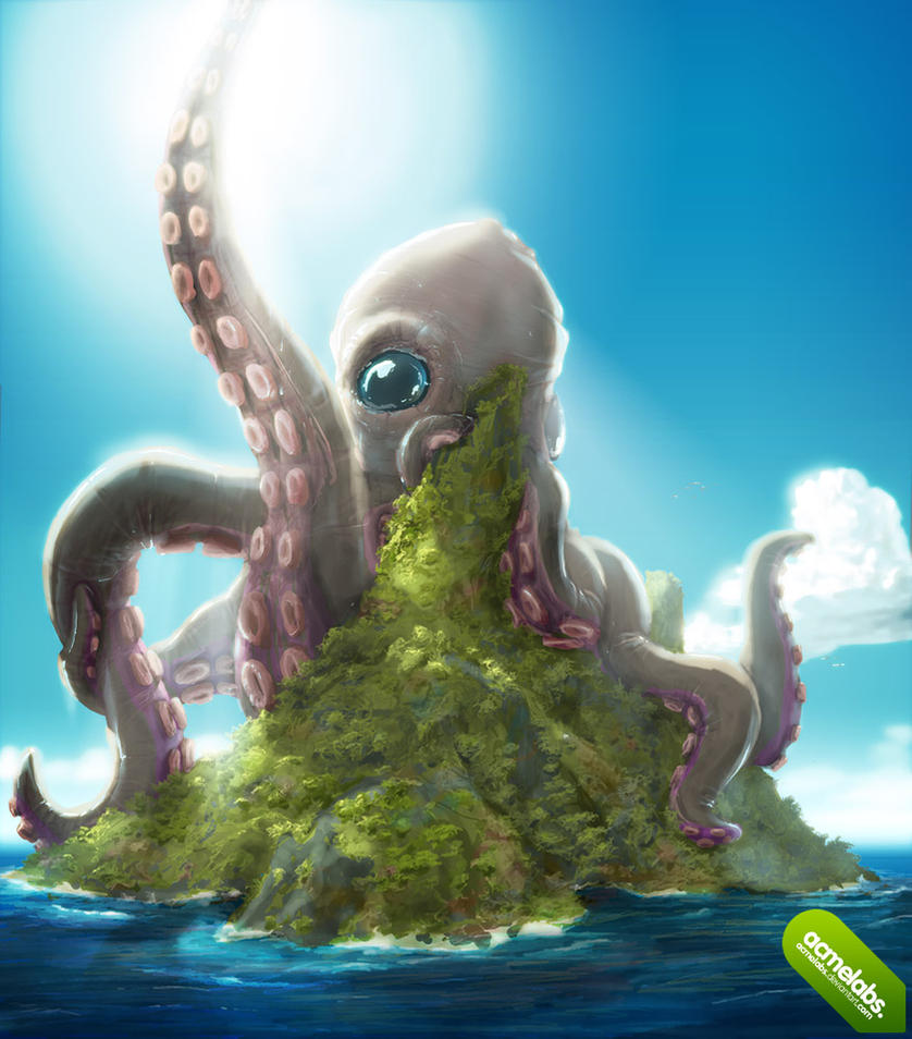 Huge Octopus by acmelabs