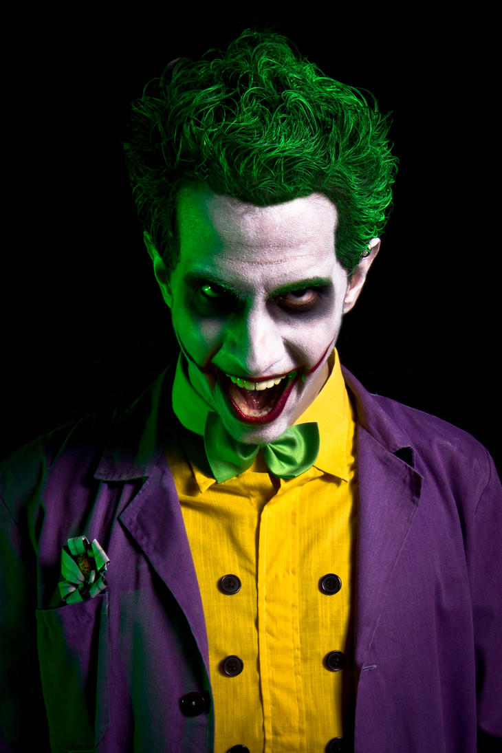 The Joker (Arkham saga version) by Chaves87