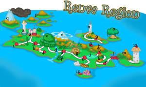 Renva Region Map