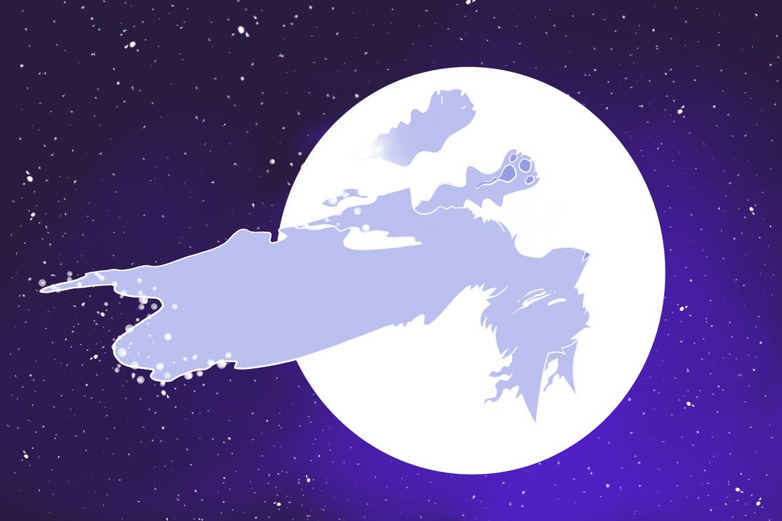 Nightly star - Redraw by manglekittens