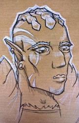 Go-Ang-Umra, Half-Orc Ranger