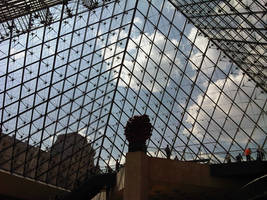 Louvre inverted