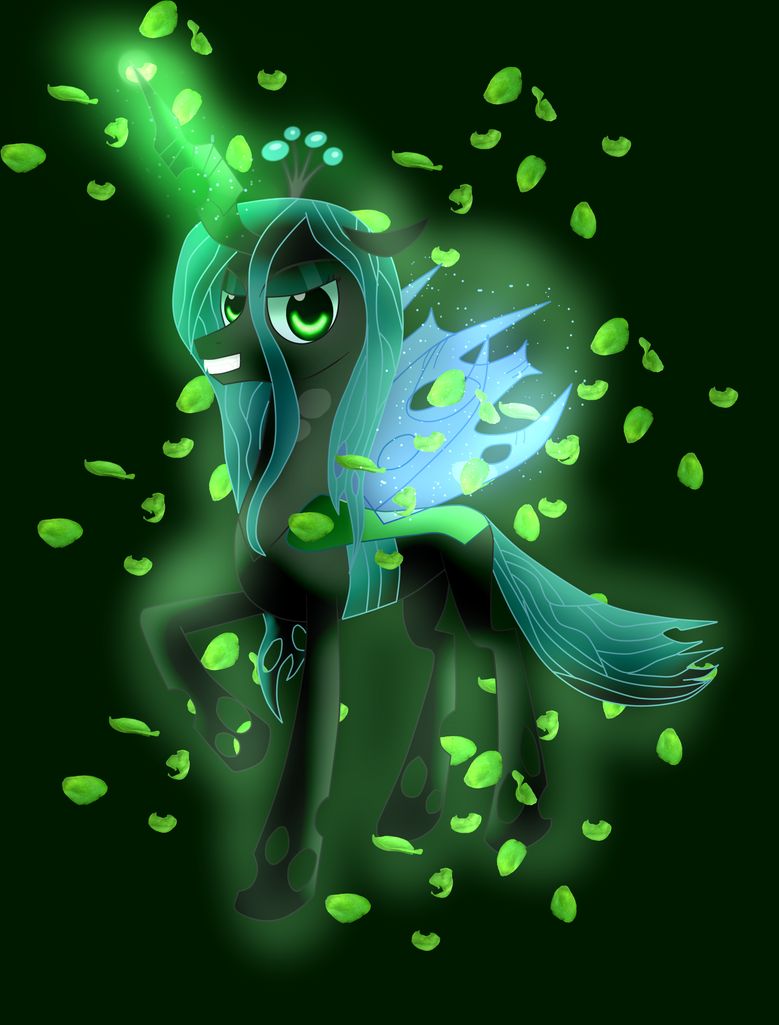 Queen Chrysalis by lightning-runner18