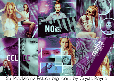 Madelaine Petsch Icons by crystalrayne24