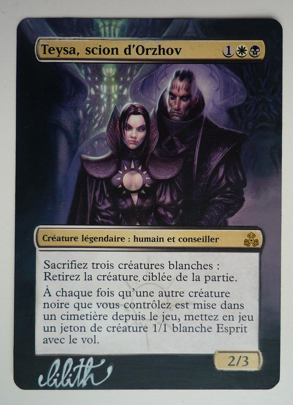 Teysa Orzhov Scion Mtg Card Alter By Lilithmj On Deviantart Test your knowledge on this gaming quiz and compare your score to others. teysa orzhov scion mtg card alter by