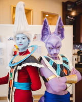 Whis and Beerus cosplay by sargentsammy