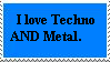 Techno and Metal stamp by Thurid