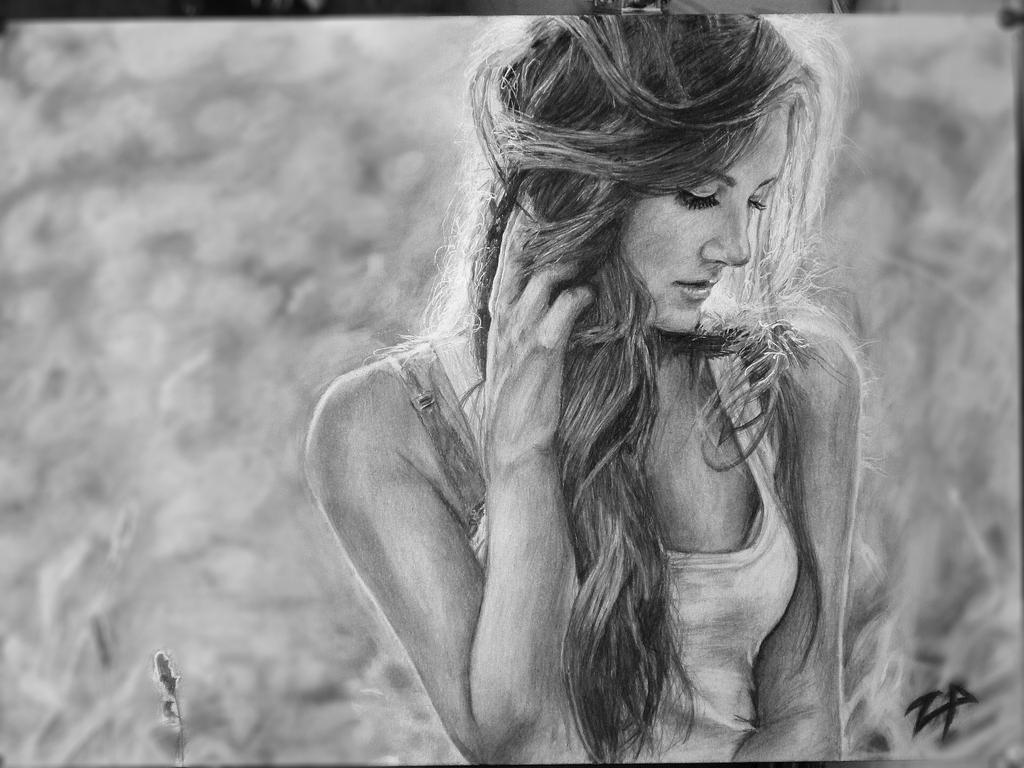 A pretty girl by 09Pumba09