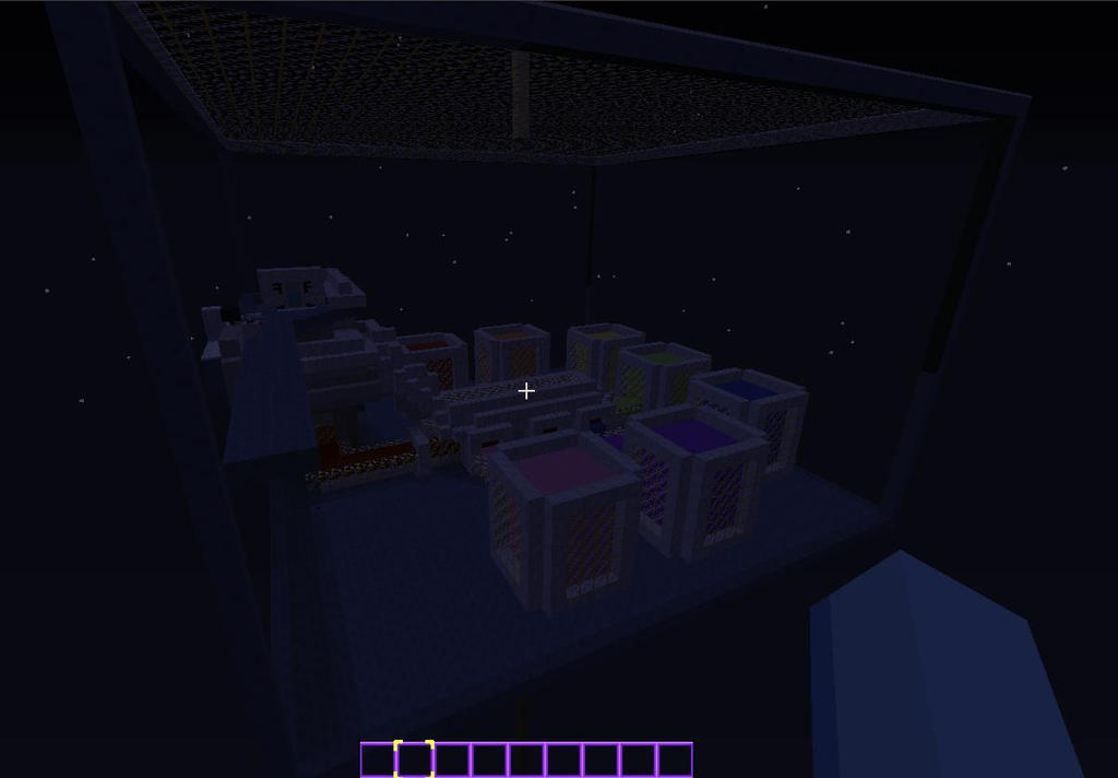 Rainbow Factory Minecraft wip by chibicosplayer