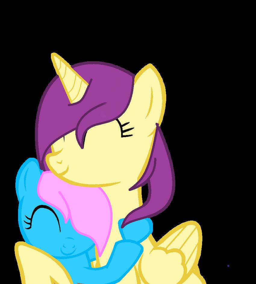 ::REQUEST:: Rainbow4 Hug Sweet by IcyPonyArtist