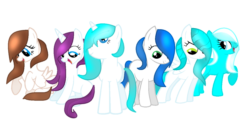 Ice Group by IcyPonyArtist