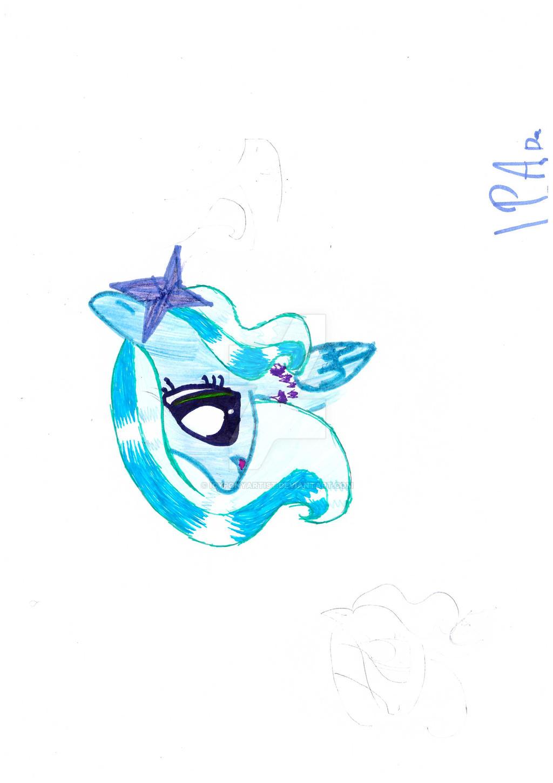 IceStar by IcyPonyArtist