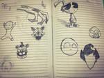 Random Ink doodles