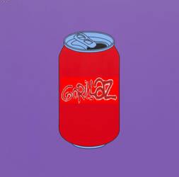 gorillaz brand soda