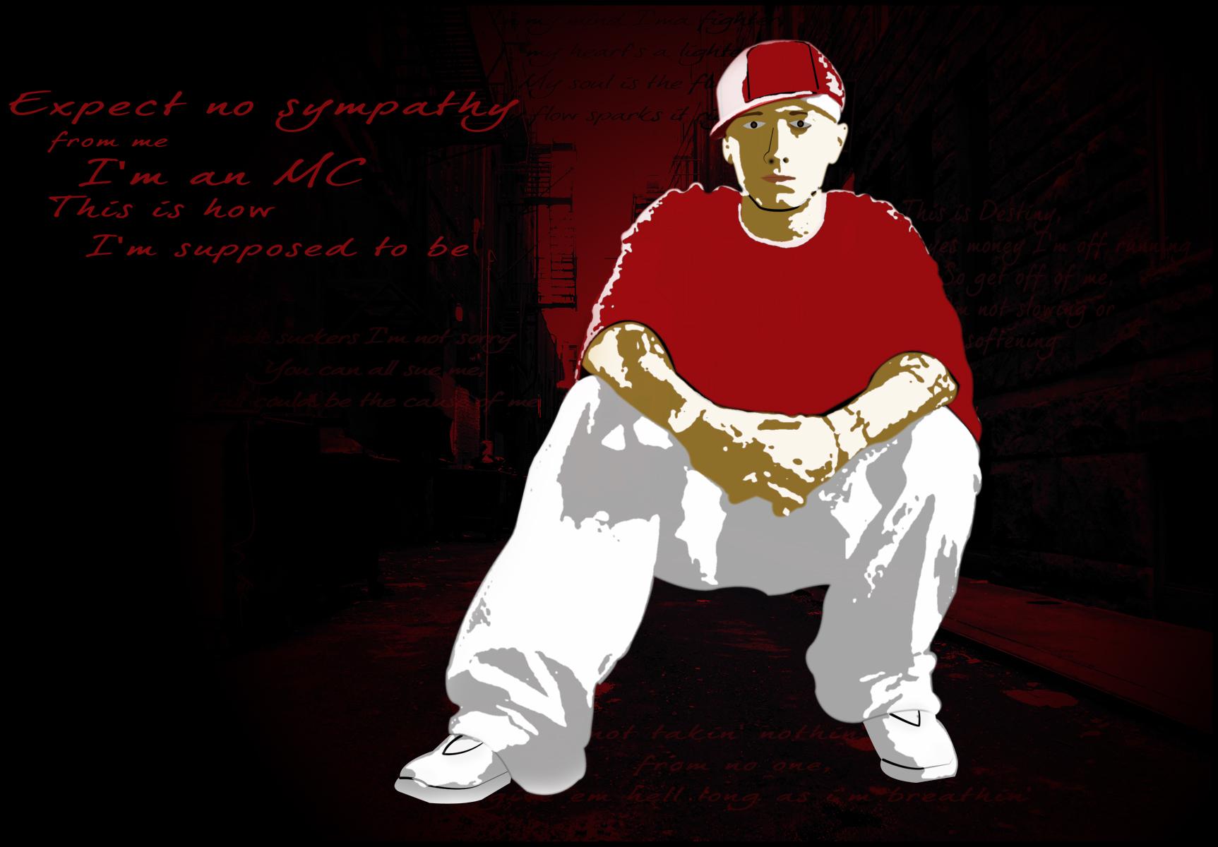 Eminem by littlegit99 on deviantART