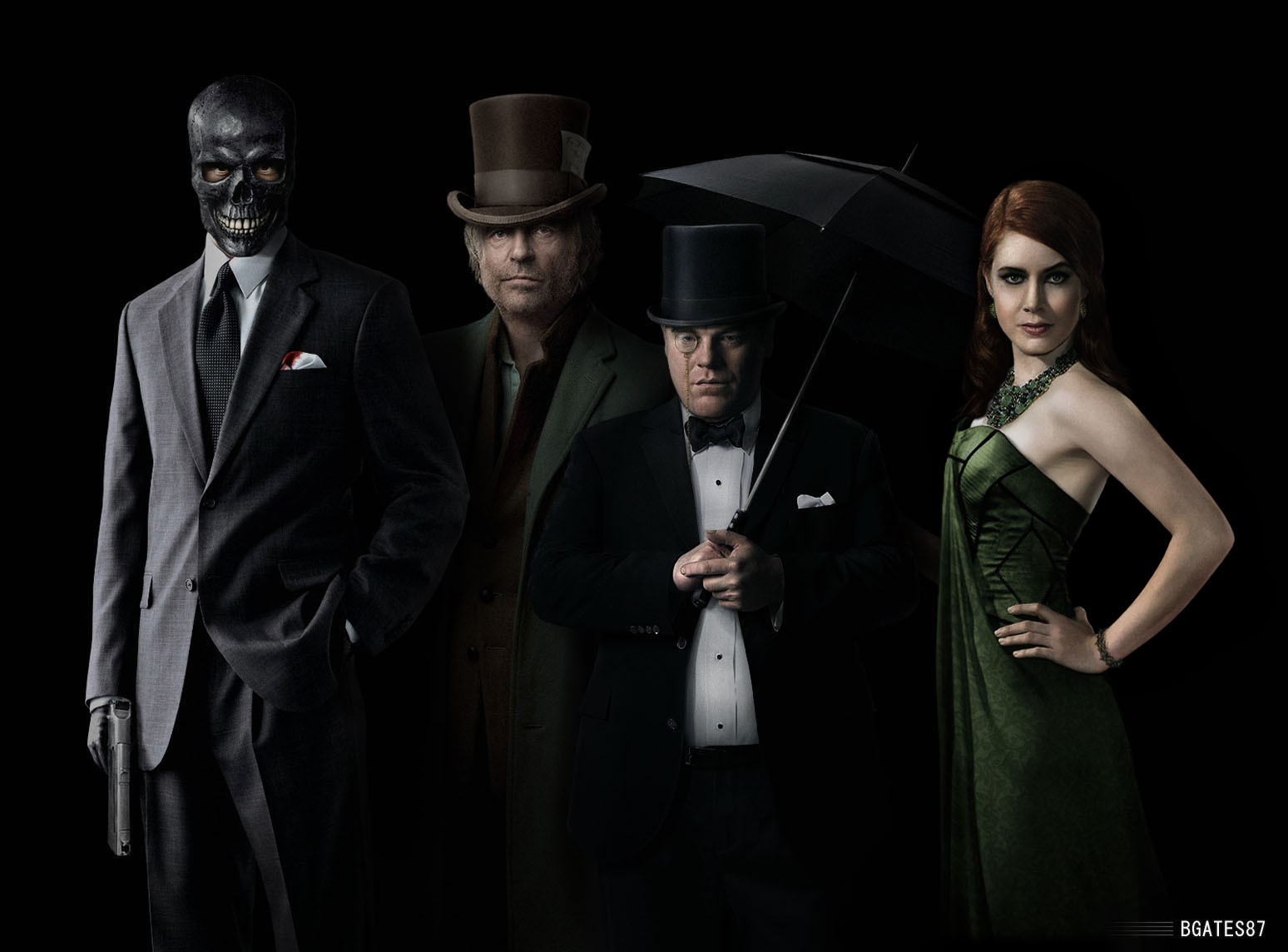 Batman rogues gallery by bgates87 on deviantart for The mask photos gallery