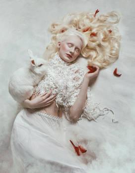 White Alice in Wonderland