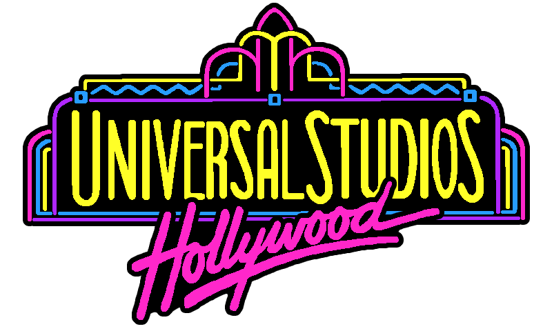 90s universal studios hollywood logo by artchanxv on