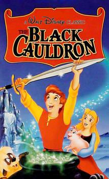 The Black Cauldron Classics VHS