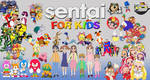 Sentai For Kids Promotional Poster by ArtChanXV