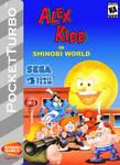 Alex Kidd in Shinobi World Box Art 2