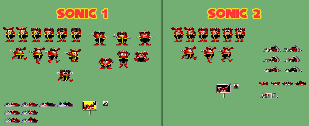 Dr Robotnik Boss Sprites By Artchanxv On Deviantart
