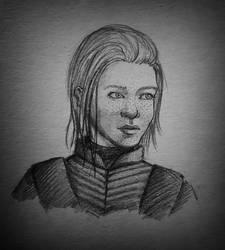 Brienne of Tarth by Arrette