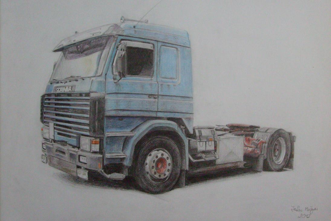 Scania 143 m Art by matyi92