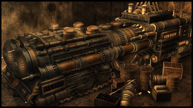 SteamTankomotive