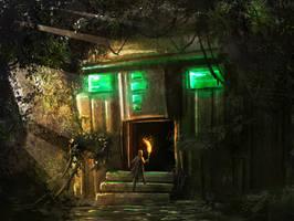 Hidden Temple speedpaint by Tryingtofly