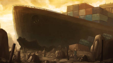That ship wasn't here the last time I checked